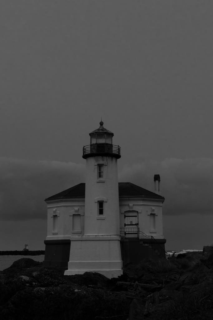 coquille lighthouse Southern Oregon