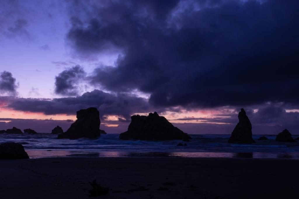 bandon beach southern oregon