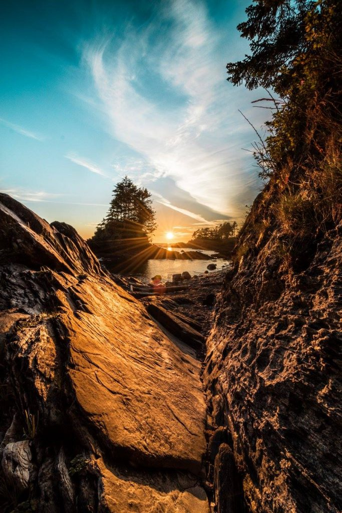 botany bay sunset vancouver island port renfrew british columbia vancouver island photography tour