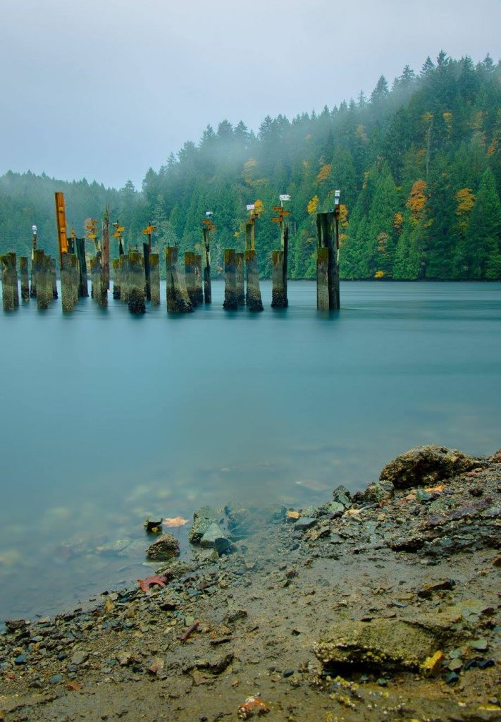 tod inlet vancouver island long exppsure photography