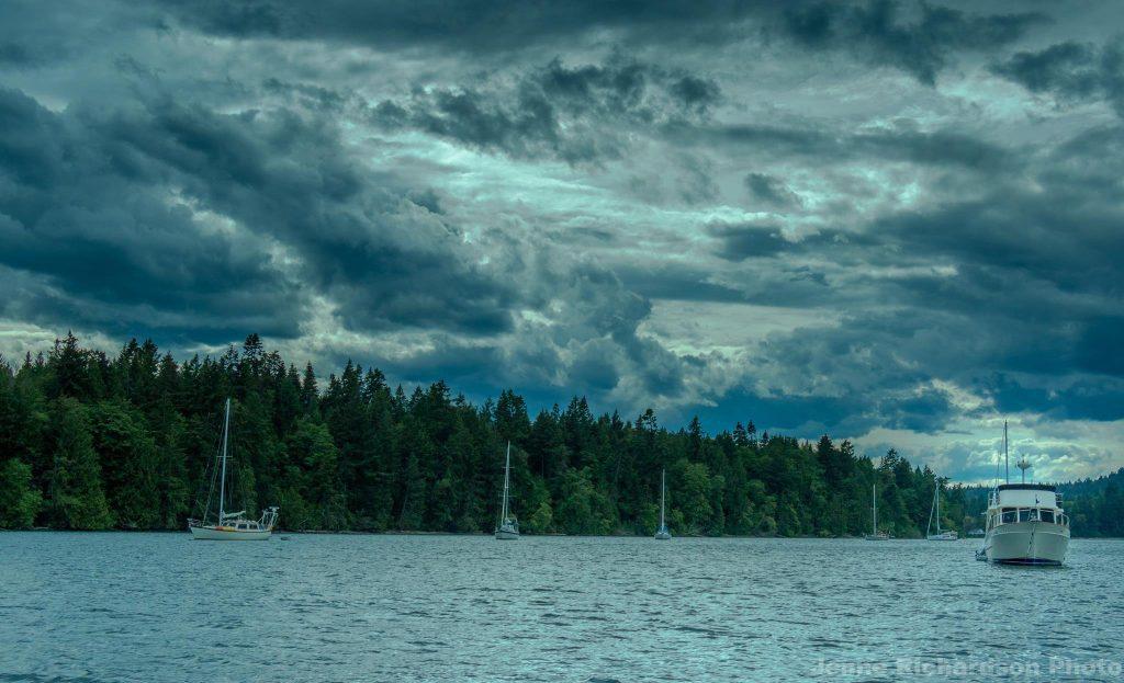 gulf islands landscape photography