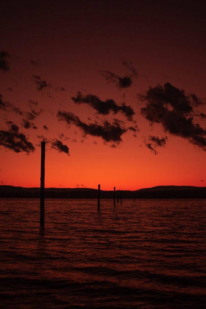 sunset north saanich vancouver island landscape photography