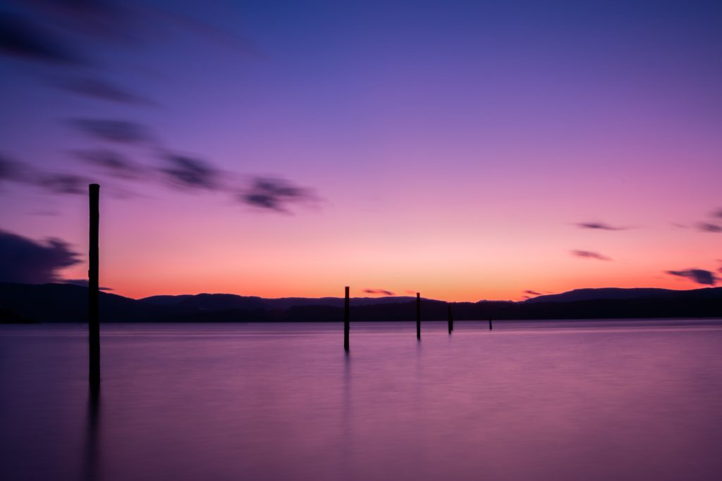 sunset north saanich vancouver island long exposure photography