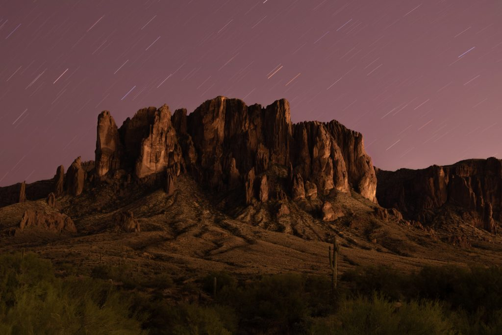 american southwest night landscape photography