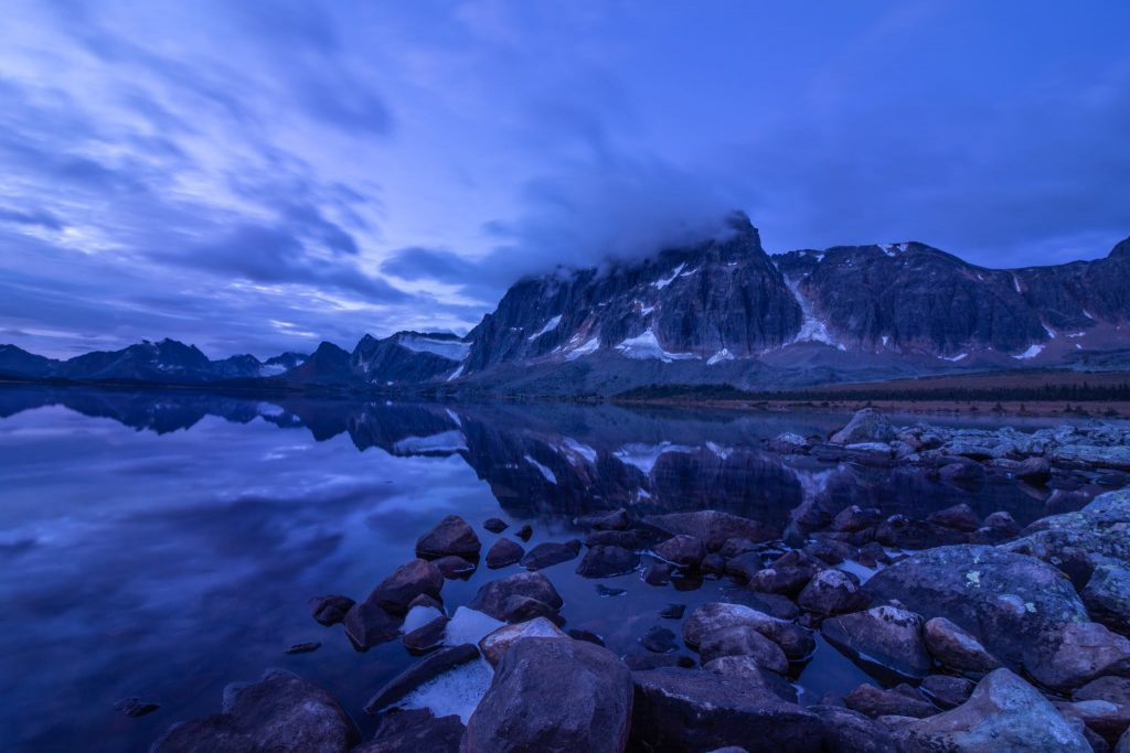 tonquin valley jasper alberta ramparts sunrise