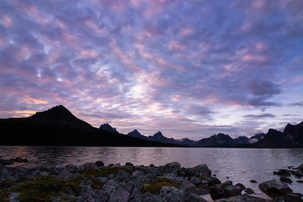 tonquin valley jasper alberta ramparts sunrise