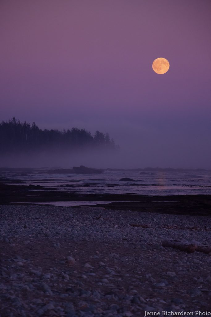 vancouver island landscape photography moonrise long exposure vancouver island photography tour