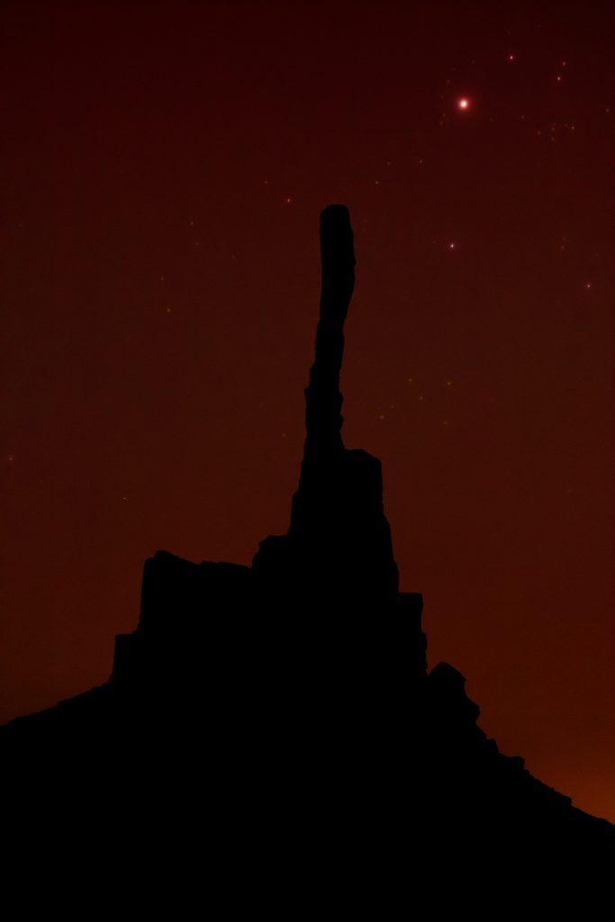 Monument Valley astrophotography