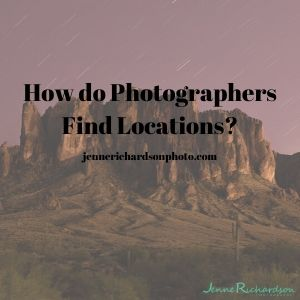 how do photographers find locations