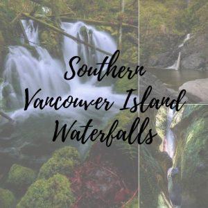 Waterfalls on Vancouver Island