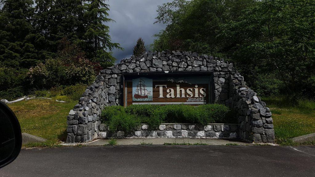 tahsis bc vancouver island
