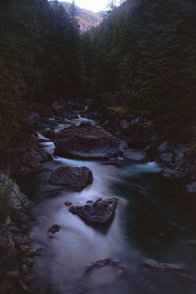 tahsis bc vancouver island leiner river