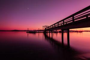 sidney spit sunset vancouver island photography