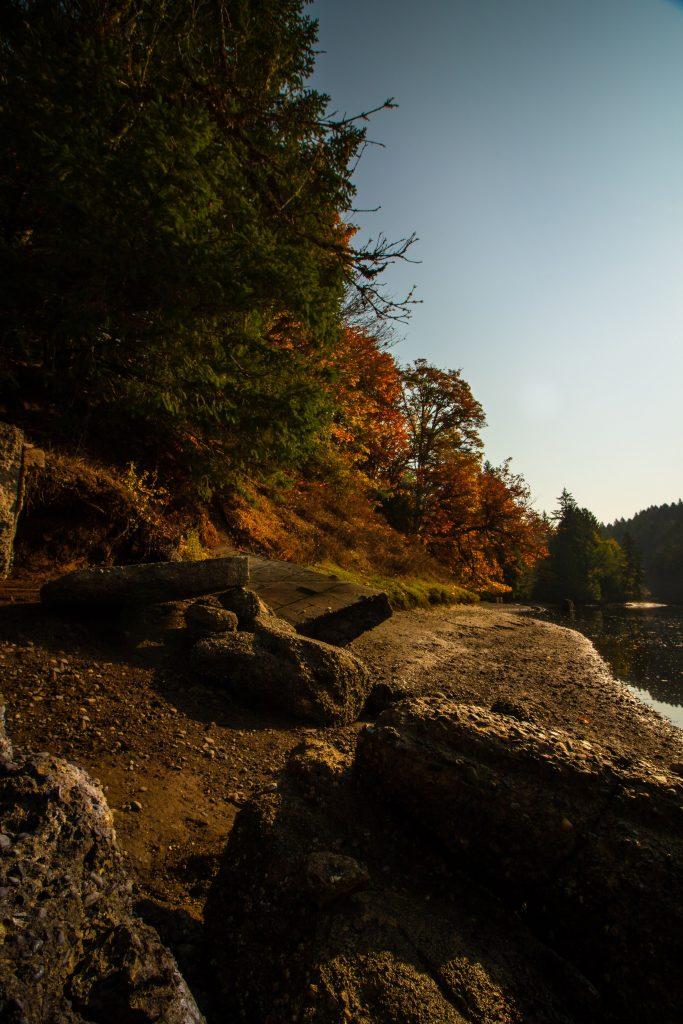 fall canada seasons vancouver island victoria bc tod inlet