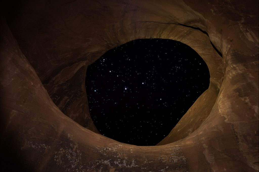 american southwest astrophotography monument valley moccasin arch