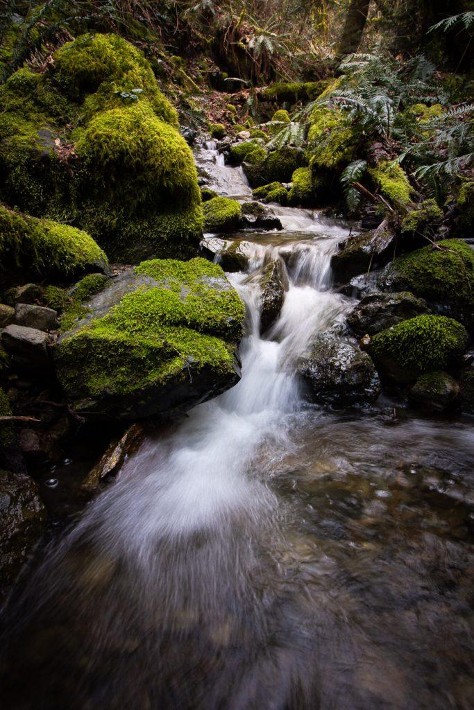 vancouver island waterfall photography